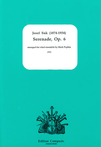Serenade Op. 6 wind ensemble by Jozef Suk