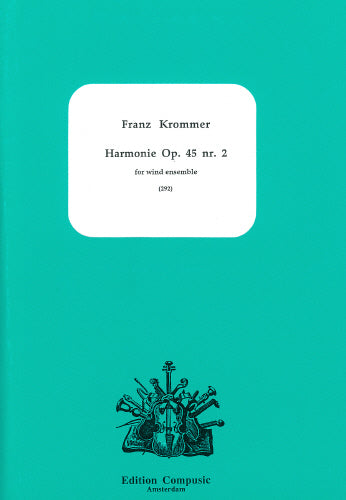 Harmonie Op. 45 nr. 2 by Krommer (Wind Ensemble)