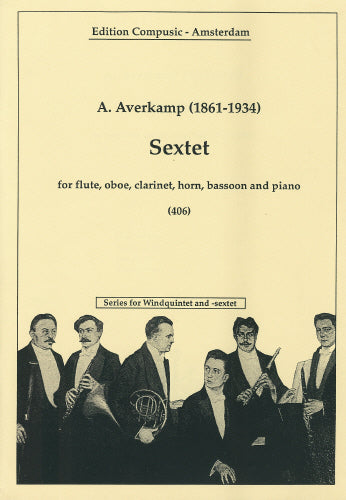 Averkamp: Sextet - windquintet, piano