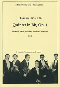 Quintet in Bb, Op. 1 by Lindner
