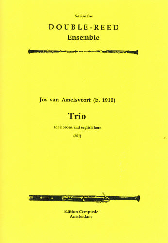 Amelsvoort: Trio - 2 oboes, english horn (Wind Ensemble)