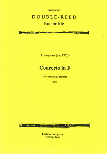 Concerto in F - 4 oboes, 2 bassoons (Wind Ensemble)