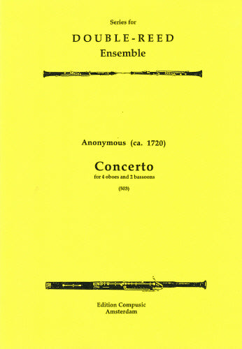Concerto - 4 oboes, 2 bassoons (Wind Ensemble)