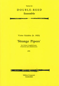 Kalabis: Strange Pipers - wind ensemble