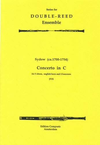 Sydow: Concerto - 3 oboes, english horn, 2 bassoons (Wind Ensemble)