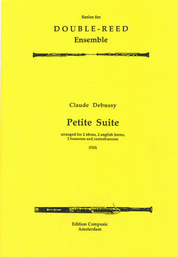 Debussy: Petite suite - wind ensemble- Double Reed Series