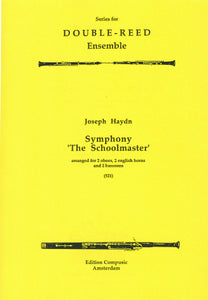 Haydn: Symphony 'The Schoolmaster' - wind ensemble