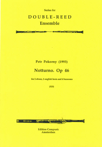 Pokorny: Notturno Op. 46 - 2 oboes, 2 english horns, 4 bsn (Wind Ensemble)