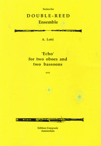 Antonio Lotti: Echo