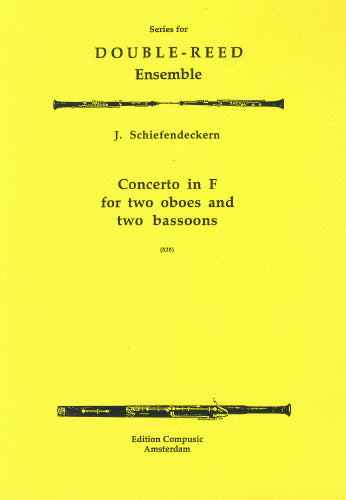 Schiefendeckern: Concerto in F - 2 oboes, 2 bassoons (Wind Ensemble)