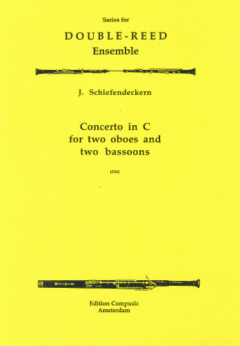 Schiefendeckern: Concerto in C - 2 oboes, 2 bassoons (Wind Ensemble)