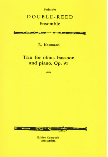 Koumans: Trio Op. 91 - oboe, bassoon, piano (Wind Ensemble)