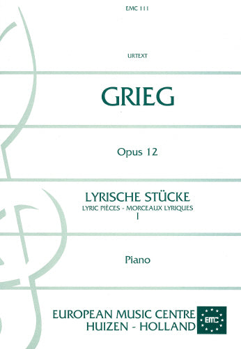 Grieg: Lyrische Stucke  Op. 12 - piano