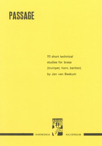 Beekum: Passage, 111 Short Technical Studies for Brass