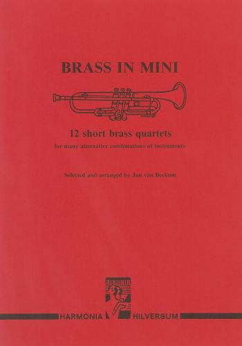 Brass in Mini - 12 Short Brass Quartets