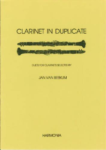 Clarinet in duplicate