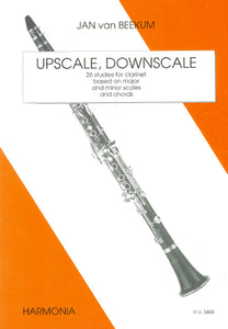 Beekum: Upscale, Downscale  26 studies for clarinet