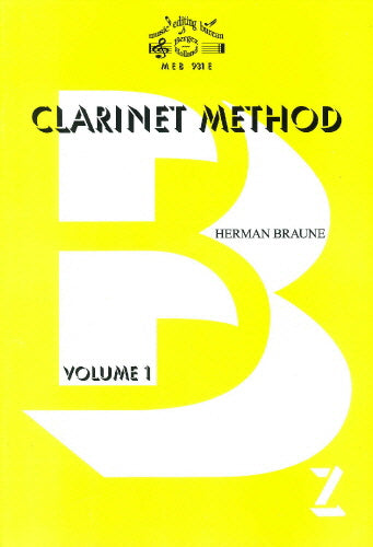 H Braune: Clarinet Method Volume 1