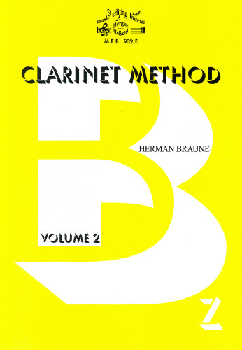 H Braune: Clarinet Method Volume 2