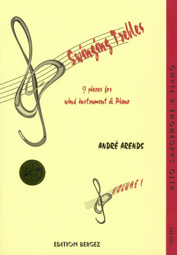 A Arends: Swinging Trebles (Alto / Baritone Saxophone & Piano)
