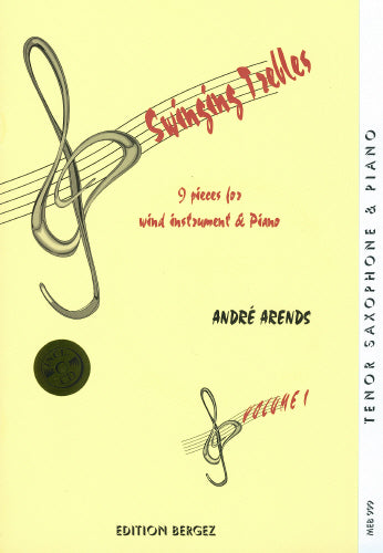A Arends: Swinging Trebles (Tenor / Soprano Saxophone & Piano)