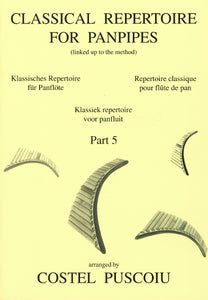 Puscoiu: Classical repertoire for panpipes 5 - panpipe