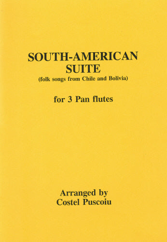 Puscoiu: South American Suite - pan pipes (trio)