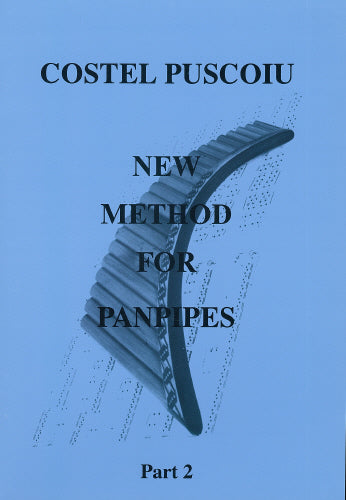 Puscoiu: New method for panpipes 2 - panpipe