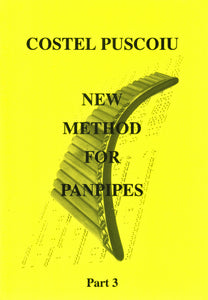 Puscoiu: New method for panpipes 3 - panpipe