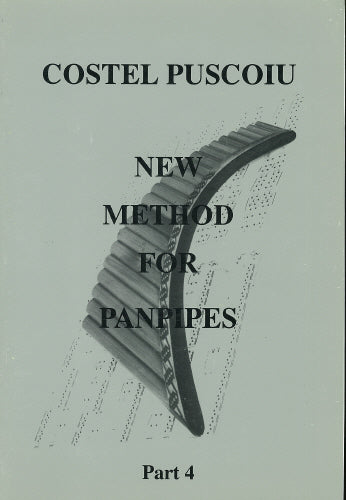 Puscoiu: New method for panpipes 4 - panpipe