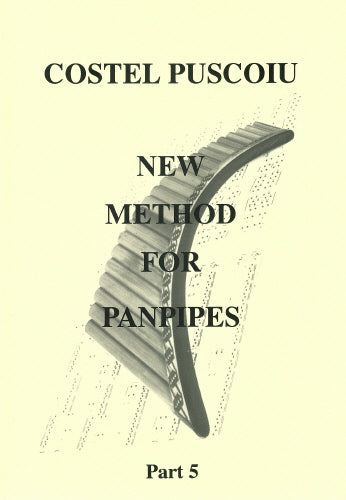 Puscoiu: New method for panpipes 5 - panpipe