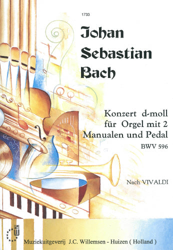 Bach: Concerto for organ in d-minor, BWV 596