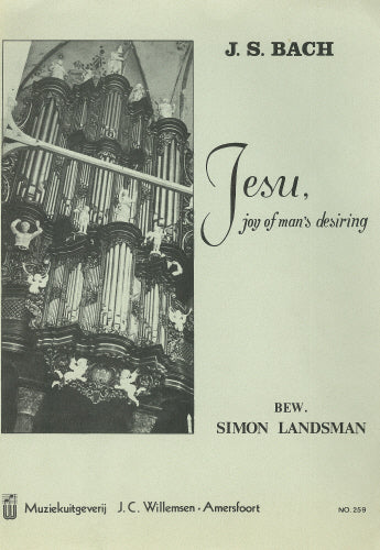 Bach: Jesu, joy of man's desiring - organ