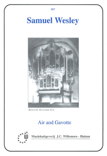 Wesley: Air and Gavotte - organ