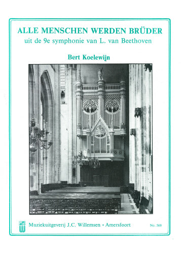 Beethoven: Variations on Ode to joy from the 9th Symphony - organ