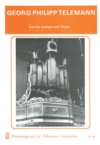 Telemann: Airs for Trumpet and Organ - organ