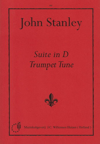 Stanley: Suite in D/Trumpet Tune  (Organ Solo)