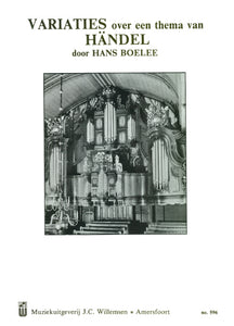 Variations on a theme by Handel (Organ Solo)