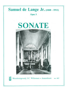 Lange Jr.: Sonate opus 5 - organ