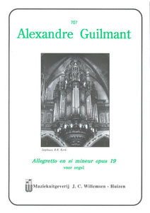 Guilmant: Allegretto in si mineur, Op.19 No. 1 - Verset No. 5 (Organ Solo)