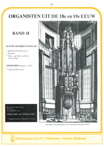 Knecht: Organists of the 18th & 19th Century Volume 2