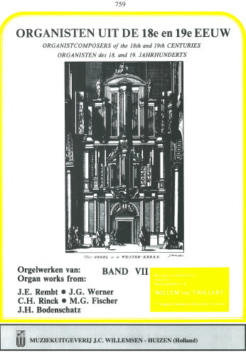 Fischer: Organists of the 18th & 19th Century Volume 7