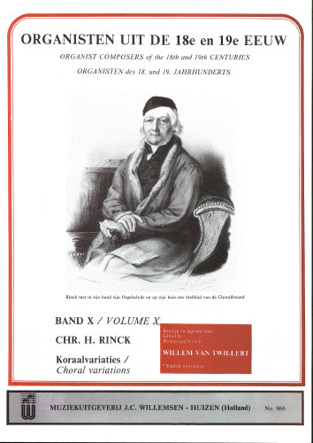 Rinck: Organists of the 18th & 19th Century Volume 10