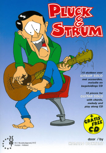 Boxtart: Pluck & Strum - Solo Guitar with FREE CD