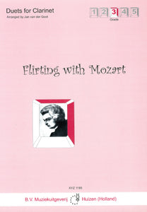 Flirting with Mozart for Clarinet Duet