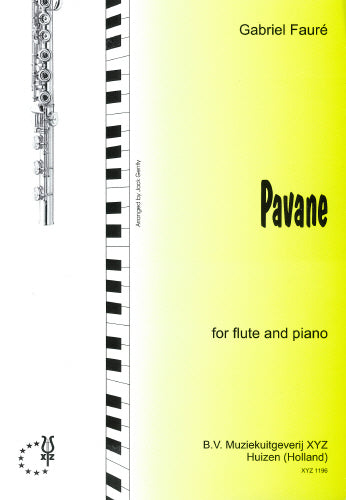 Fauré: Pavane by Faure for Flute and Piano
