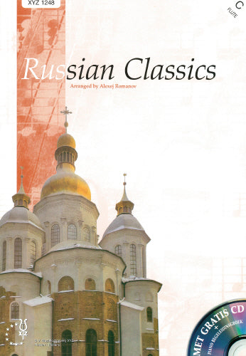 Russian Classics for flute and piano with FREE CD