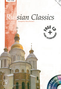 Russian Classics for violin and piano with FREE CD