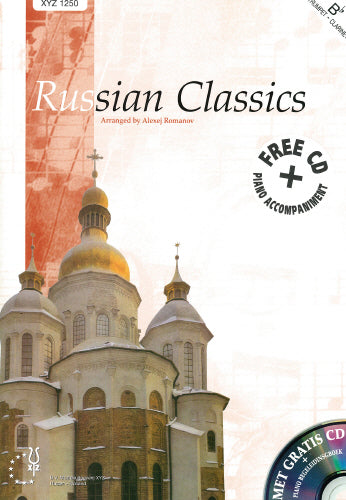 Russian Classics for Trp or Clar + Piano/FREE CD
