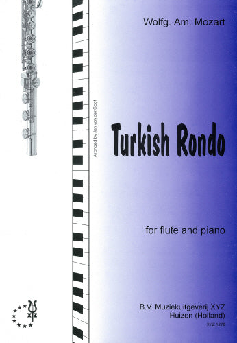 Turkish Rondo by Mozart for flute and piano